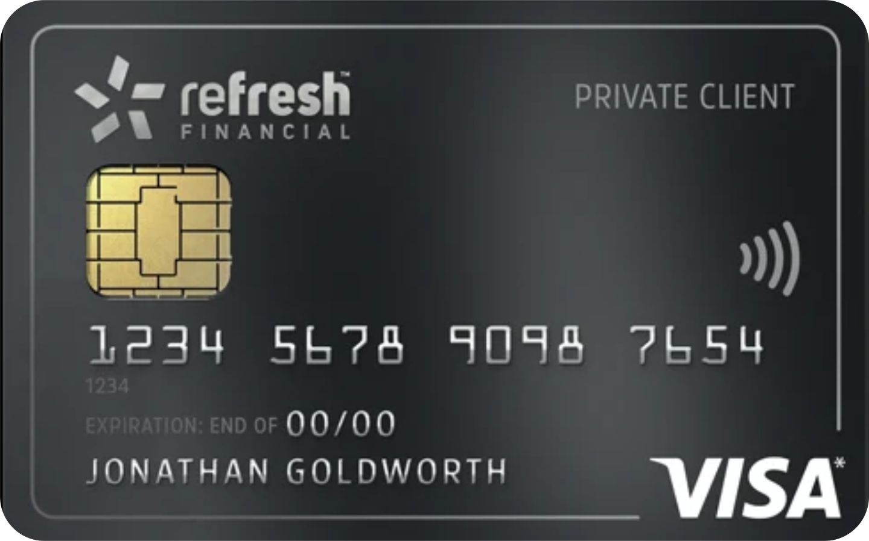 Refresh Secured Card